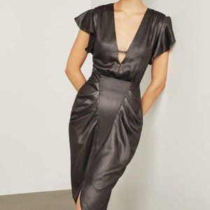 BCBG Metallic Sheath Dress